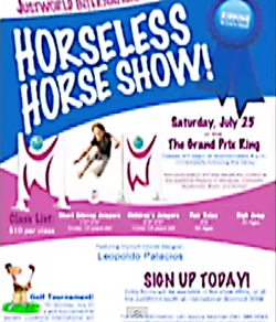 Horseless Horse show poster