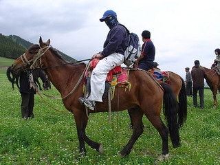 horseback riding Silk Road