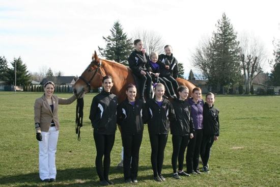 Above and Beyond Vaulting team