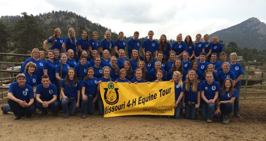 4-H Equine Career and Horse Industry Tour
