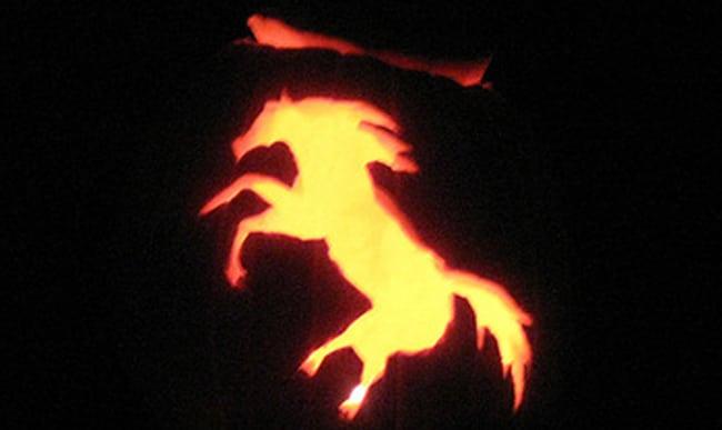 Carve a horse jack o lantern lover s math