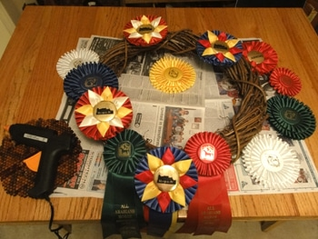 arrange ribbons