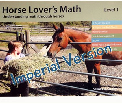 Horse lovers math (Level1) - Imperial version