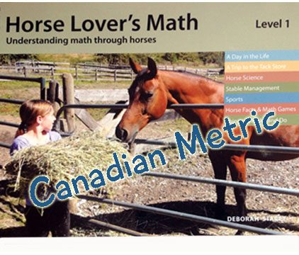 Horse lovers math (Level1) - Metric version