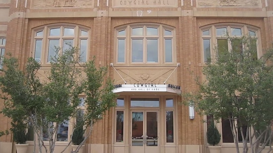 The Cowgirl Museum and Hall of Fame in Fort Worth, Texas.