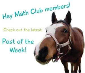 Equestrian Blog of the Day: Horse Lover's Math