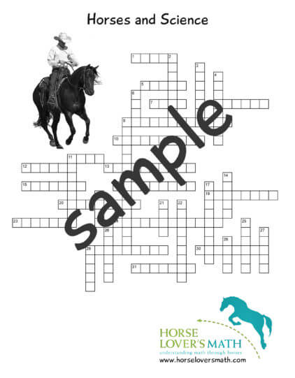 horses and science crossword