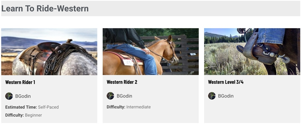 equine online learning